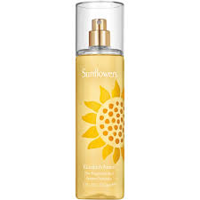 Sunflower Bath Gift Set by Elizabeth Arden Sunflowers Body Mist Fragrance Spray For Women 8