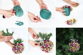 How To DIY Handmade Christmas Chupa Chups Ball Decoration
