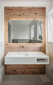 badezimmer mit wand aus holz wandverkleidung bad