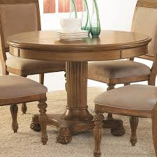 Breathtaking Single Pedestal Dining Table For Room Decoration Exciting Furniture