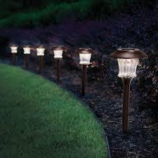Solar Halloween Pathway Lights by Solar Powered Landscape Lights Home Decorating Interior Design