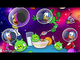 Angry Birds Space FROOT LOOPS BLOOPERS K 1 Walkthrough 3 Stars