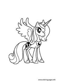A Princess Luna My Little Pony Coloring Pages Printable And Book To Print For Free Find More Online Kids Adults Of