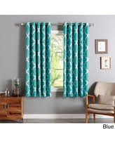 Moroccan Tile Curtain Panels by Amazing Deals On Aurora Home Curtains U0026 Drapes
