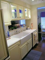 French Country Galley Kitchen Photo