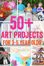 50 Art Projects For 3 5 Year Olds