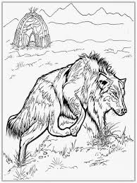Wolf Coloring Pages Free Printable 31895