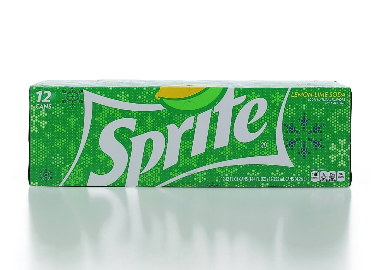Sprite Fridge Cans - 12 Pack