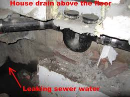 Tub Drain Leaking Under House by A Sewer Leak Test Can Avoid Unnecessary Plumbing Repairs