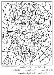 Number Coloring Pages Advanced Color By Honesty