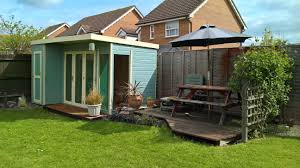 100 Contemporary Summer House 12 X 8 Waltons House With Side Shed RH Family