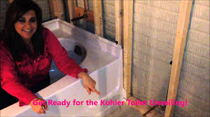 Kohler Villager Tub Rough In by Kohler Ensemble Tub Diy Bathroom Install With Youtube