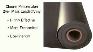 audimute peacemaker sound barrier vs mass loaded vinyl youtube
