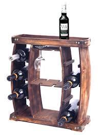 100 Glass Racks For Trucks Rustic Wooden Wine Rack With Holder8 Bottle Decorative Wine