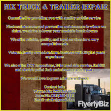 Nix Truck & Trailer Repair - Home | Facebook Truck Auto Repair Services In Abilene Tx Maintenance Prentative Managed Mobile California Wiers Home Mikes And Trailer Europe Service Aliexpresscom Buy Etmakit New Top Quality Phone J 247 Dallas Texas Repairs Fernley Nv Dickersons 775 Tian Harrisonville Mo 64701 Renegade And Facebook
