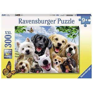 Ravensburger Puzzle Delighted Dog Jigsaw Puzzle - 300 Pieces