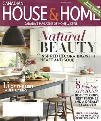 Home Decor Magazine Canada by Canadian House And Home October 2015 U2014 Laura Stein Interiors