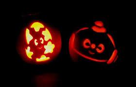 Peppa Pig Pumpkin Stencil by Single Mummy One In A Million What Halloween Pumpkin Stencils