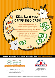 Operation Gratitude Halloween Candy Buy Back by Blog Madison No Fear Dentistry