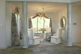 How To Decorate Dining Rooms With Columns Vertically Stretched Elements Make A Room Appear Taller And Larger