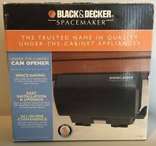 Black And Decker Under Counter Can Opener by Under Cabinet Can Openers Ebay