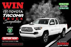 Toyota Sweepstakes To Benefit Road 2 Recovery Foundation - Racer X ... New Hampshire Lottery Trucks Bucks Win A Truck Tedlifecustomtrucksca Fuso Diamond Mini Draw Winners Win Rm95000 Bigwheelsmy Great American Outdoor Show Nra Raffle Sweepstakes Soldier Blaney Cruises To Win At Pocono Series Sportsnetca Diessellerz This Truck Obs Heres The Finished Project On 949 The Rock S Pick Up Truck 29 Chase Briscoe Ford Ecoboost 200 Homestead 2017 One Of Four Ldv T60 4x4 Utes 20 Giveaway Kasey Kahne 2015 00 Haas Automation 124 Nascar Diecast Harbor Nissan Dealership In Port Charlotte Fl 33980