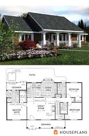 Simple Country House Plan 1400sft 3bedroom 2 Bath Plans 18 1036
