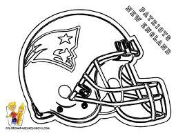 Coloring Pages Of Football Helmets Helmet Stunning Brmcdigitaldownloads