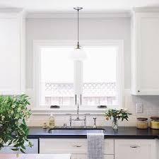 glass light kitchen sink design ideas