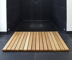holz badvorleger theipa eiche 50 x 70 cm badvorleger holz