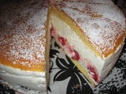 leichte himbeer quark sahne torte