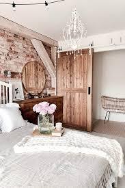 gemütlich rustikal schlafzimmer schöne idee für eine