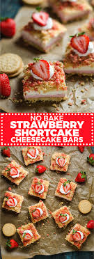 No-Bake Strawberry Shortcake Cheesecake Bars - Host The Toast Best 25 Cheesecake Toppings Ideas On Pinterest Cheesecake Bar Wikiwebdircom Blueberry Lemon Bars Recipe Nanaimo Video Little Sweet Baker 17 Wedding Ideas To Upgrade Your Dessert Bar Martha Snickers Bunsen Burner Bakery Make Everyone Happy Southern Plate Apple Carmel Apple Caramel The Girl Who Ate Everything