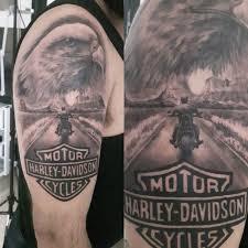 Best 25 Harley Davidson Tattoos Ideas On Pinterest
