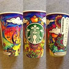 Starbucks To Feature An Original Crowd Sourced Artwork On Its Reusable Plastic Cups Love When Companies Reach Out Their Fans And Customers For