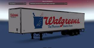 DC-Walgreens Trailer For ATS Mod - ATS Mod | American Truck ... Relocation Van Line Moving Trucks Trailers Movers Usa Company Smarts Truck Trailer Equipment Beaumont Woodville Tx The American Built Racks Sold Directly To You Flatbed Headboard For Sale In Mi Type St Used Great Skins Mexicousa Companies 12 Mod Rebrands Assetlight Business Begins Strategic Focus On Worlds Longest Semi Tractor Two Rivers Wisconsin Trailer Simulator Android Ios Youtube Pack V10 For Ats Allmetal Semitrailer V11 Mod