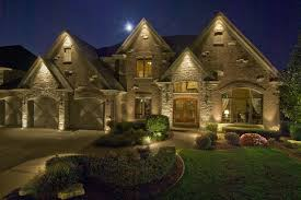 exterior accent lighting for home wonderful led outdoor lake