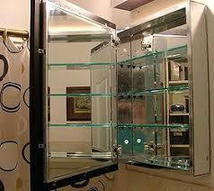 vintage medicine cabinet mirror cupboard metal shelf