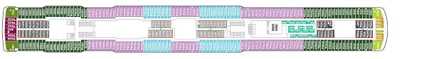 Norwegian Dawn Deck Plan 11 by Just Cruise Cruise Ship