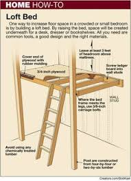 Loft Bed Woodworking Plans by Free College Dorm Loft Bed Plans Easy Woodworking Plans