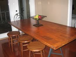 DIY Dining Room Table Used Lowes Poplar 6 Slabs Pocket Joiner Glue