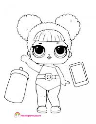 Doll Coloring Page 2202975