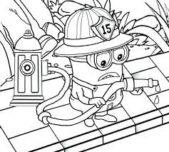 Minions Coloring Pages Pdf Love The Minion Page