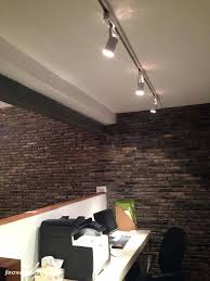 lights wall mounted track lighting can on with fixtures image