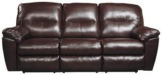 Wall Saver Reclining Couch by Signature Design By Ashley Kilzer Durablend Contemporary