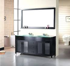 30 Inch Bathroom Vanity by Glass Top Vanity Bathroom Espresso Wood With Glass Top Bathroom