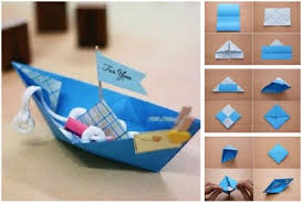 How To Make Origami Boat For You Step By DIY Tutorial
