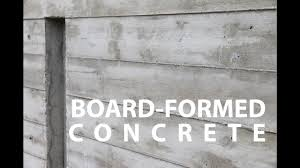 100 Concret Walls Board Formed Architectural E How To