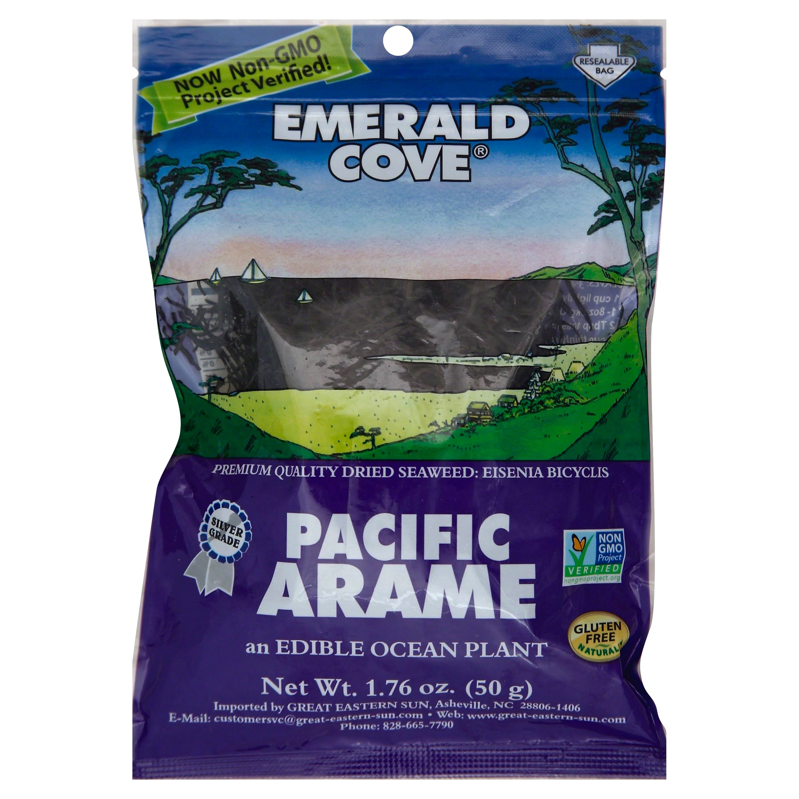 Emerald Cove Sun Dried Arame Sea Vegetable - 50ml