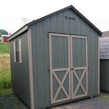 6x8 a frame wood shed kit